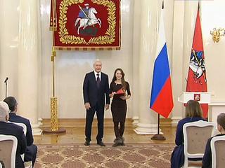 В Мэрии Москвы и Госдуме вручили награды журналистам