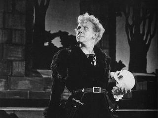 Михаил Чехов в роли Гамлета