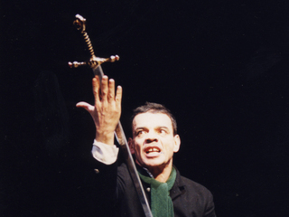 """Константин Райкин.  """"Гамлет"""", 1998, реж. Роберт Стуруа. фото О.Чумаченко / Автор: Фото из архива театра """"Сатирикон"""""""