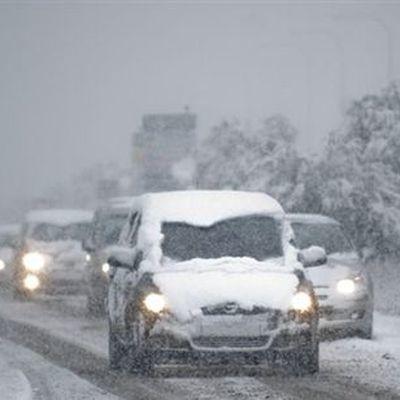 Снегопад в Москве не осложнил дорожную ситуацию