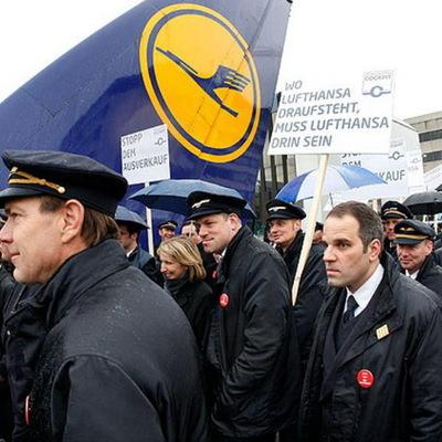 Пилоты Lufthansa обещают новые забастовки