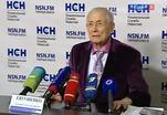 Евгений Евтушенко представил свою новую книгу