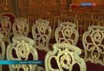 В Юсуповском дворце завершилась реставрация мебельного гарнитура