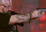 Сергей Бадюк опробовал любимый пистолет швейцарского спецназа
