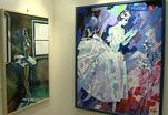 Двойная выставка художника Олега Савостюка и скульптора Леонида Баранова