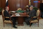Владимир Путин встретился с президентом Академии наук