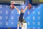 Штангистка Татьяна Каширина выиграла золото с тройным рекордом
