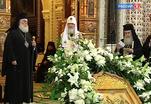 В Храме Христа Спасителя звучали молитвы на разных языках