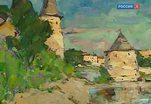 Пейзажи российской глубинки на выставке в Академии художеств