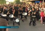 Фестиваль уличных театров проходит в Архангельске