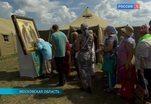 Десятки тысяч паломников собрались в Подмосковье на Благовещенском поле