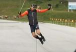 Эксклюзивное видео с тренировок российских биатлонистов
