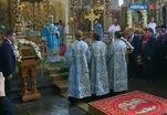 Патриарх Кирилл совершил литургию в Донском монастыре в честь праздника Донской иконы Богородицы