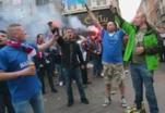 Французские болельщики жгли родной город, прогоняя англичан