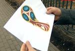 Логотип Чемпионата мира напоминает мороженое