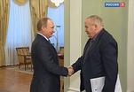 Владимир Путин поздравил с юбилеем Евгения Велихова