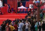 В эти минуты начинается торжественная церемония открытия 37 ММКФ