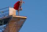 Что грозит ныряющим с высоты девятиэтажного дома