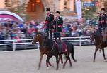 На Красной площади прошло конное шоу