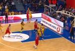 Баскетболисты московского ЦСКА обыграли израильский