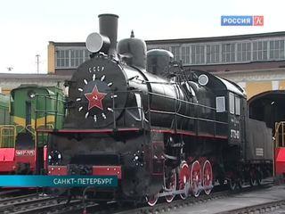 В Петербурге отреставрировали знаменитый паровоз Победы