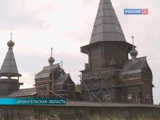 В Архангельской области завершается реставрация храмового комплекса XVIII века