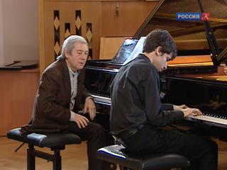 Пианист Дмитрий Алексеев провел мастер-класс для студентов Московской консерватории