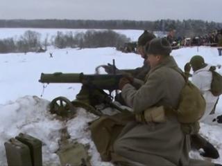 Сражение начала Великой Отечественной реконструировали под Тихвином