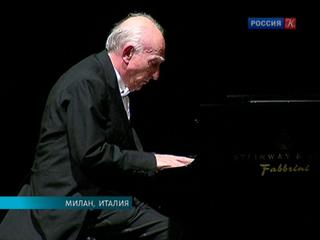 Легенда фортепианного искусства Маурицио Поллини отметил 75-летие на сцене Ла Скала