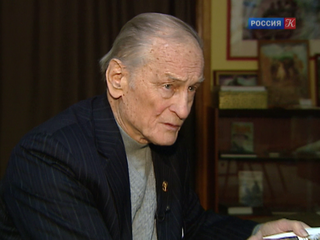 Михаил Ножкин принимает поздравления с 80-летием