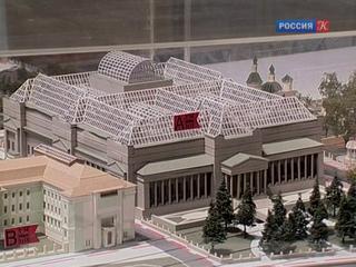 Реконструкция Музея изобразительных искусств имени Пушкина продлится до 2023 года