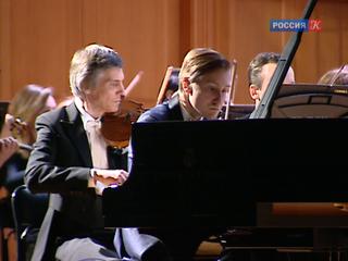 Пианист Дмитрий Маслеев и Капелла России исполнили труднейший Пятый концерт Бетховена