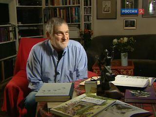 Художник-иллюстратор Борис Диодоров принимает поздравления с 80-летием
