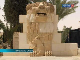В Пальмире продолжают разрушать предметы старины