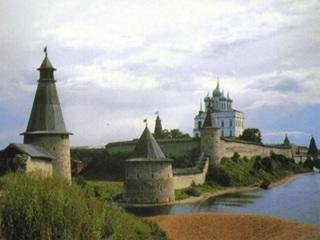 Реставрация Псковского кремля продолжается