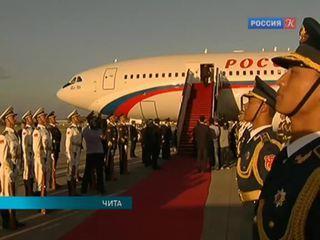 Владимир Путин приветствовал ветеранов войны в столице Забайкалья