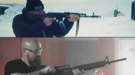 Автомат Калашникова vs M-16: кто кого