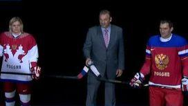 В Москве презентовали олимпийскую форму хоккейной команды