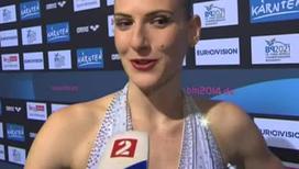 Синхронное плавание. Светлана Ромашина - чемпионка Европы