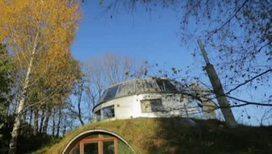 В Чехии построен дом, который уходит на зимнюю спячку