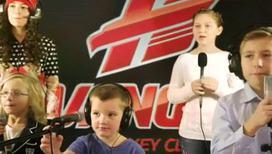 Дети хоккеистов посвятили песню своим папам