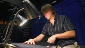 Музыку научились извлекать из воздуха