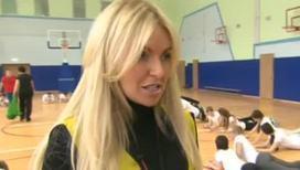 Мария Орзул приняла нормы ГТО у мытищинских школьников