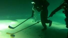 Трус не играет в подводный хоккей
