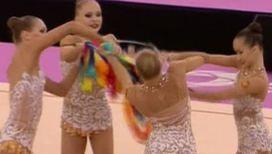 Российские гимнастки получили первые золотые медали