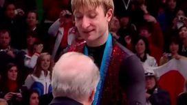 Плющенко снова травмировал позвоночник