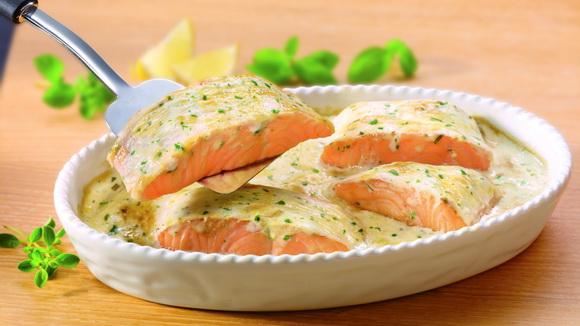 Белый соус для рыбы