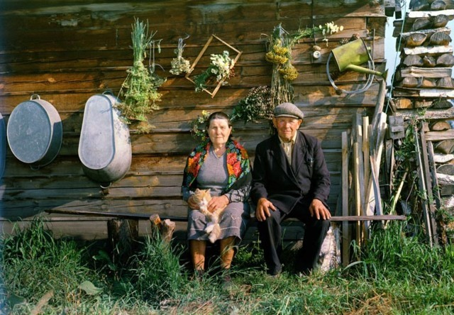 деревенские старушки фото