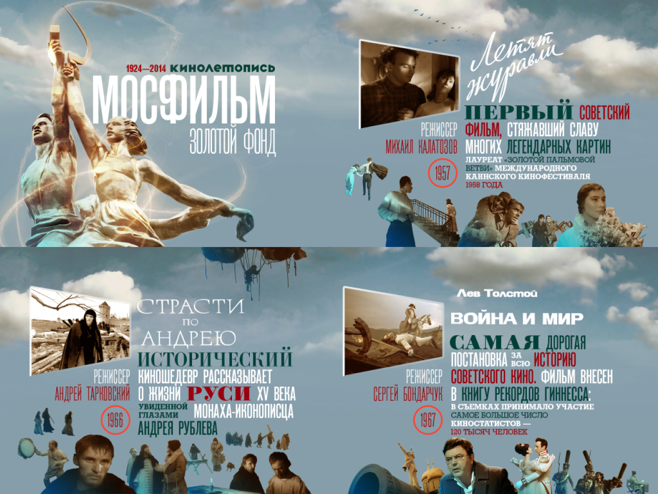 Золотой фонд советского кинематографа список 4